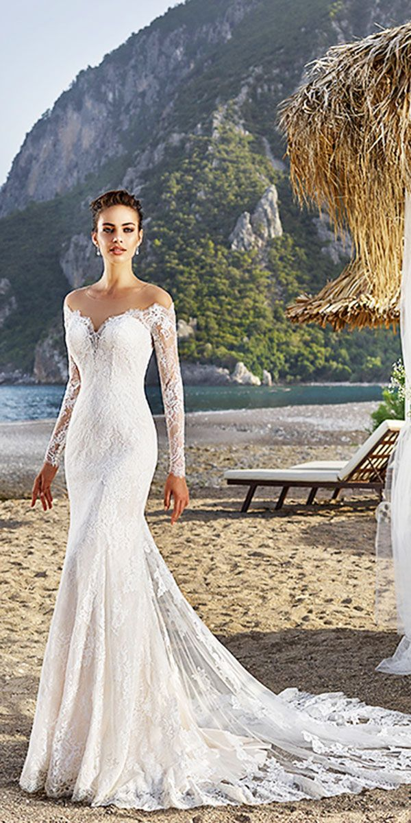 Eddy K Wedding Dresses And#8211; 2018 Bridal Collection ❤ See more: http://www.weddingforward.com/eddy-k-wedding-dresses/ #weddings