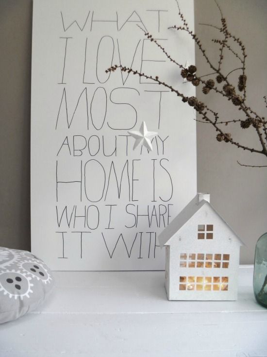 What I love most about my #home is who I share it with.  It doesn't get better than that!