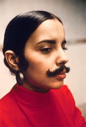 Ana Mendieta - Documentation of an untitled work (1972. c. The Estate of Ana Mendieta Collection, courtesy Galerie Lelong, New York)
