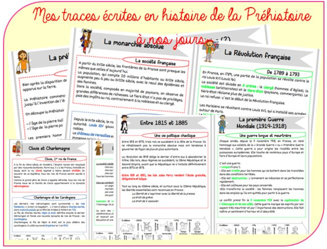 http://www.christallecole.com/toutes-mes-traces-ecrites-en-histoire-a128697100