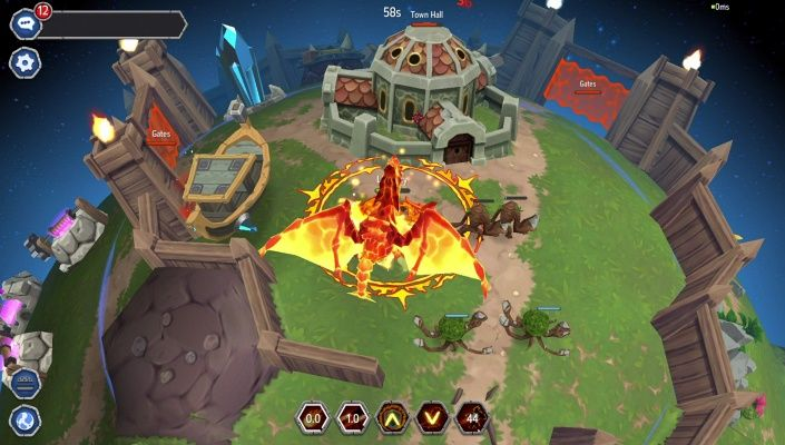 UnnyWorld is a Free to play MOBA Multiplayer Online Battle Arena Game taking place into the world of space Fantasy