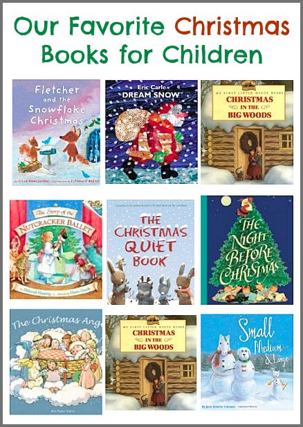 Our Favorite Christmas Books for Children from Buggy and Buddy. Are your favorites on the list?