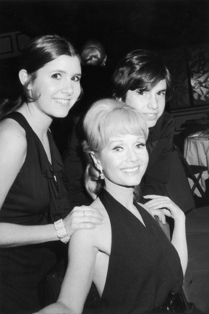 Carrie Fisher, Debbie Reynolds, and Todd Fisher