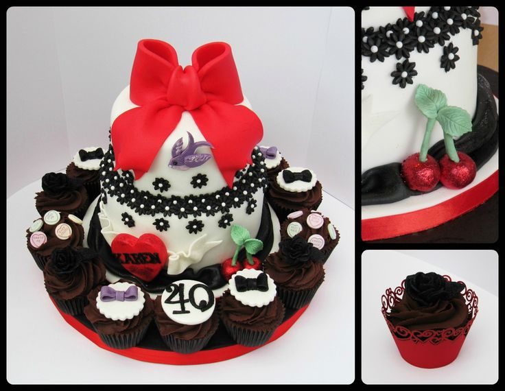 Best Rockabilly Party Images On Pinterest Rockabilly Party - Rockabilly birthday cake