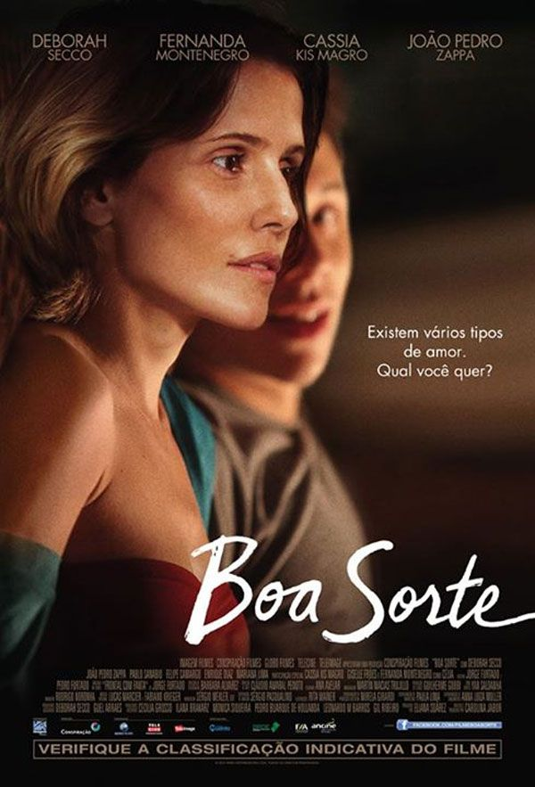 "Deborah Secco no trailer do filme ""Boa Sorte"" http://cinemabh.com/trailers/deborah-secco-no-trailer-do-filme-boa-sorte"