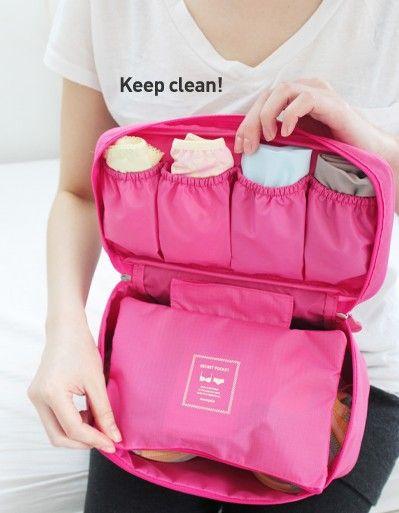Bra Underwear Travel Totes Travel Bags Suitcase Organizer Bags US $7.46