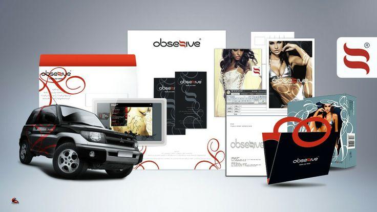 Corporate Identity, Obsessive Lingerie, Creamteam Branding & Advertising Design Studio, www.creamteam.biz, creamteam.pl