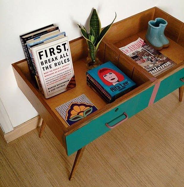 Ideias incríveis para reaproveitar gavetas antigas