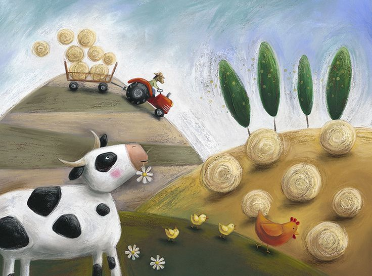 Claudine Gevry Portfolio, Children Book Illustrator working with soft pastels. Porte-folio de Claudine Gévry, Illustratrice de livres pour enfants travaillant au pastels secs.