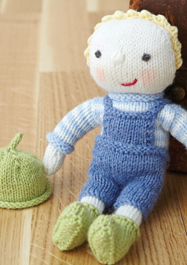 124 best KNITTED DOLLS images on Pinterest | Knitted dolls, Knit ...