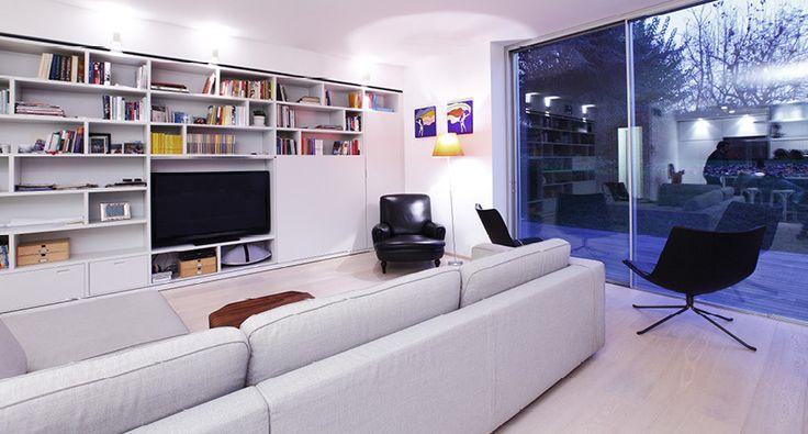 Private House / Project Bovisio Masciago / Milano #interior #design #modern #livingroom #sgsassociati