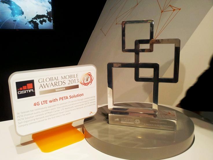 MWC GLOBAL MOBILE AWARDS 2013 @SKT 4G LTE
