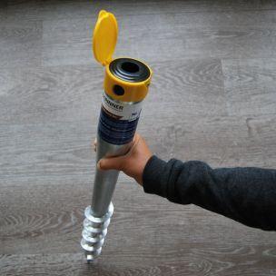 Vis de fondation - Krinner - pied de parasol à visser dans le sol