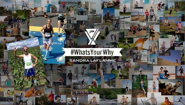 We caught up with Sandra Laflamme and she told us what she runs for.  #WhatsYourWhy