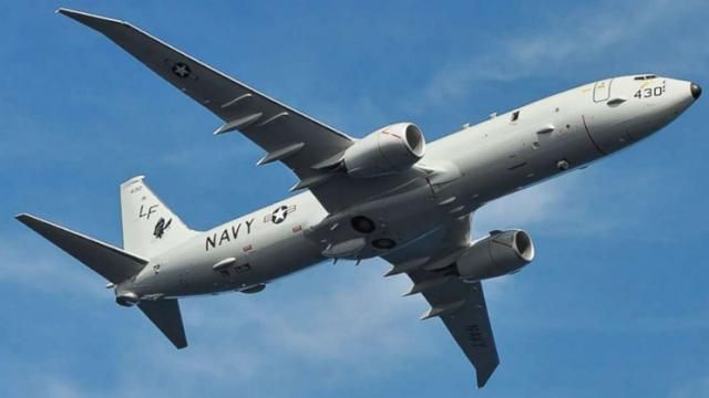 US Navy plane has unsafe encounter with Russian fighter over Black Sea
