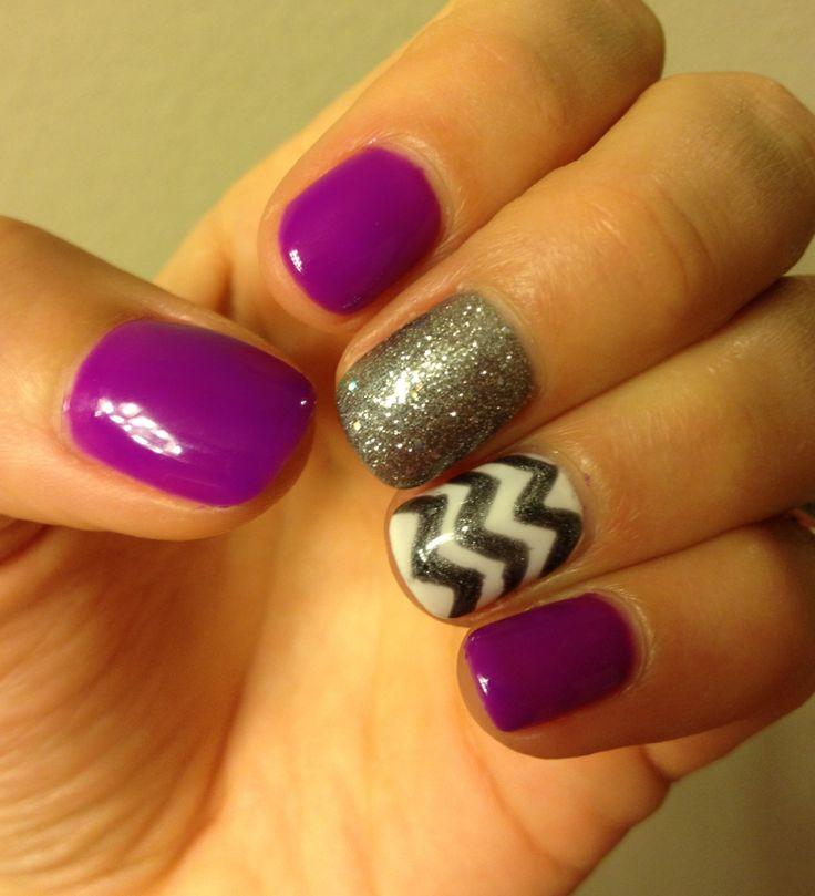 25+ Best Neon Purple Nails Ideas On Pinterest