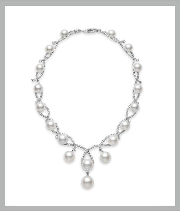 Pearls and weddings have gone together for centuries. Thrilled to have Mikimoto as one of our sponsors!