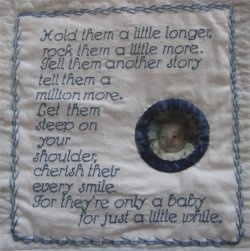 10 best images about Labels...sew pretty on Pinterest | Circle ... : memorial quilt quotes - Adamdwight.com