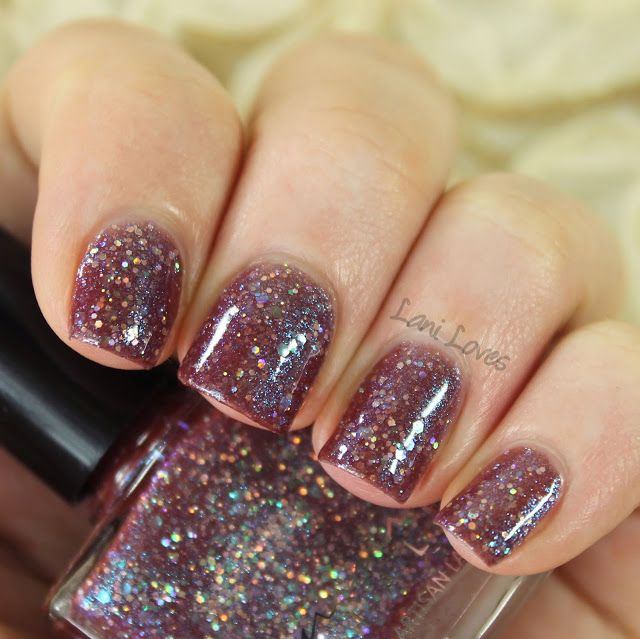 Femme Fatale Cosmetics The Weirding Way nail polish swatches & review