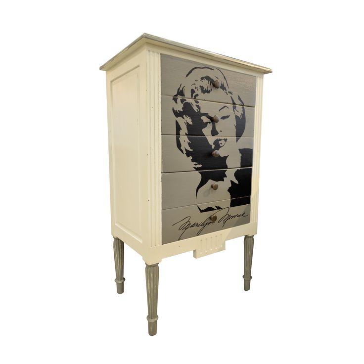Chest of Drawer-Marilyn Monroe.