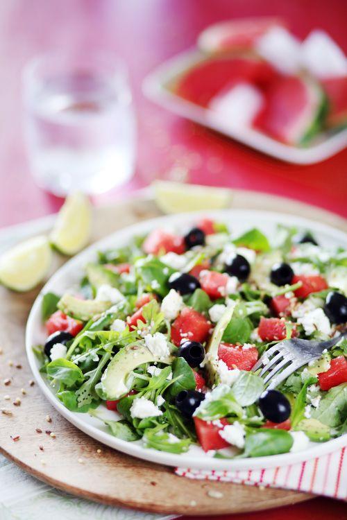 17 meilleures id es propos de salade de past que sur for Entree fraiche et rapide