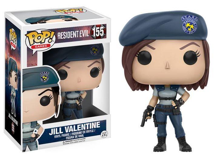 Pop! Games: Resident Evil - Jill Valentine