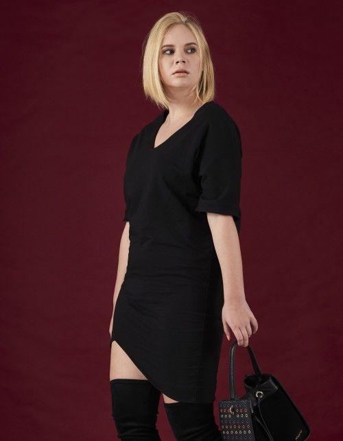 86fe783eaf Sukienka oversize Franka - Martino-Demi - Sukienki dresowe