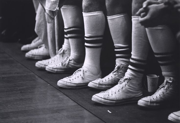 Vintage Kicks and Vintage Hardwood -- UA Men's Basketball in Foster Auditorium, 1964.