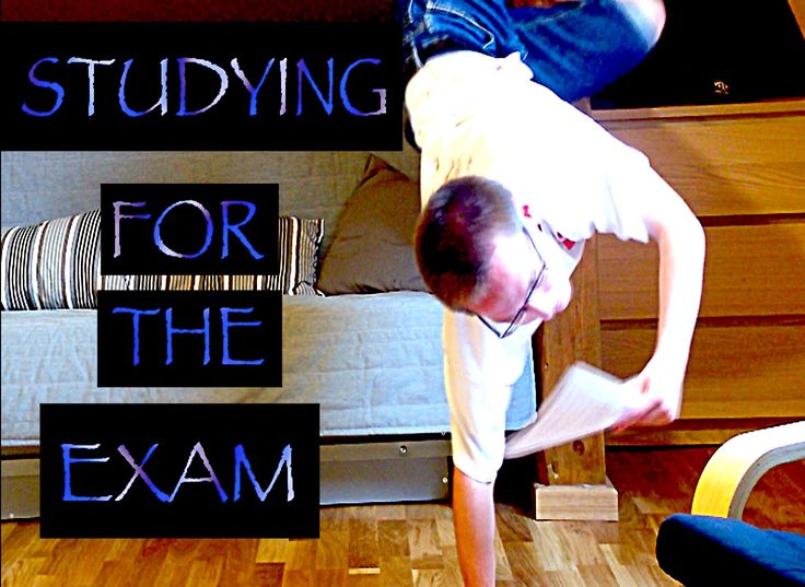 STUDYING FOR THE EXAM!
