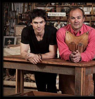 Ian Somerhalder's Got Wood, and He Needs Your Help to Put It to Good Use (For Charity)