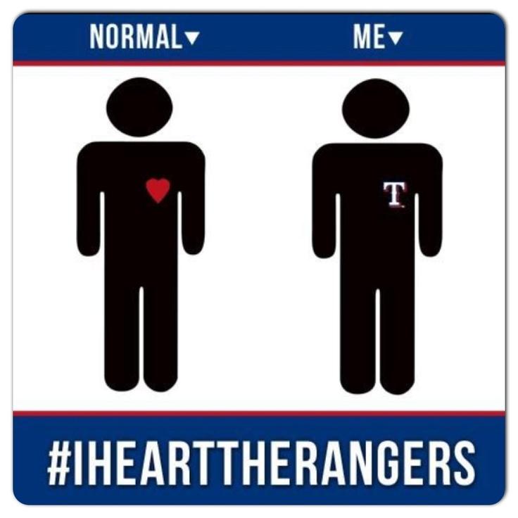 I heart the Rangers!