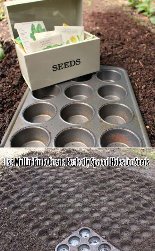 23 wahnsinnig clevere Gartenideen auf Low Budget