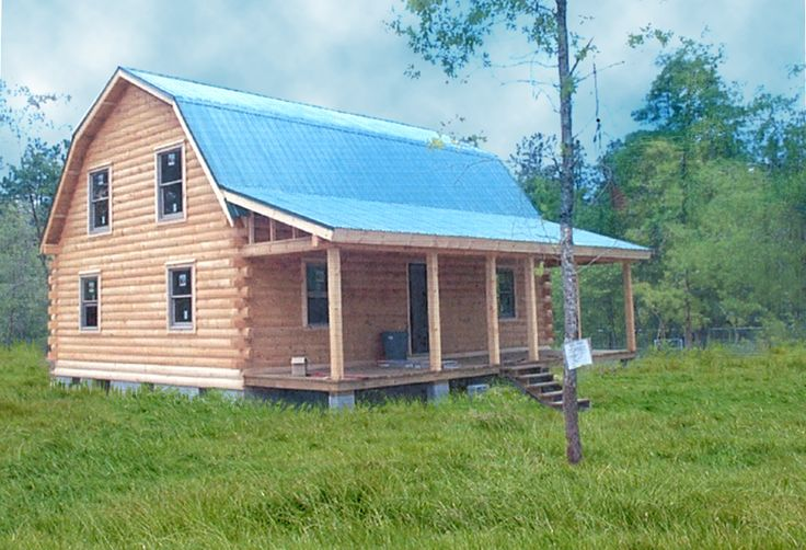 Coventry Log Homes 4 Bedroom 2 5 Bath House Bulding