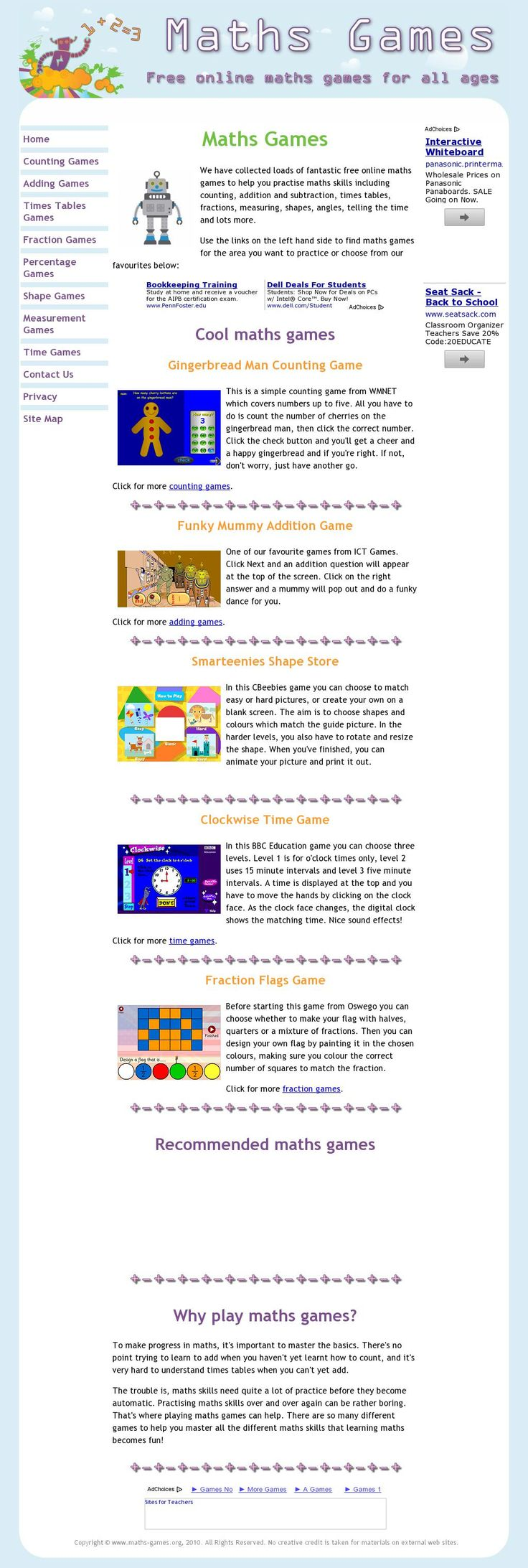 32 best Kindergarten Math Websites images on Pinterest ...
