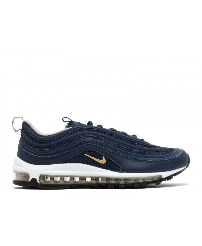low priced 8052d 541b5 ... running shoes are lightweight and feature super-responsive and spring  back fast. Nike Air Max 97 Midnight Navy, Metallic Gold 921826-400