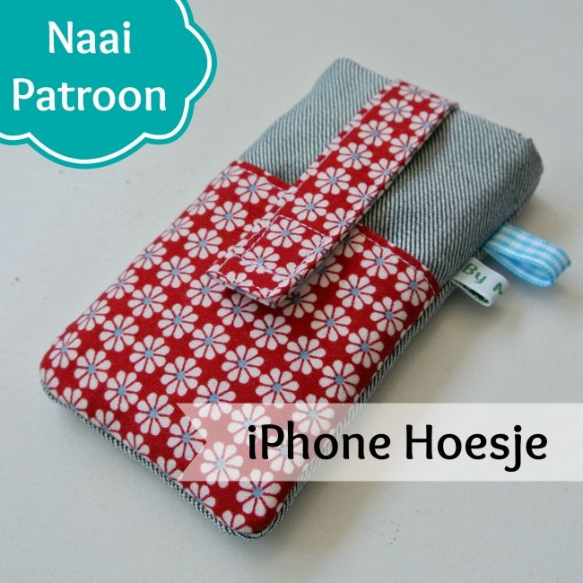 Patroon iPhone Hoesje - Sew Natural