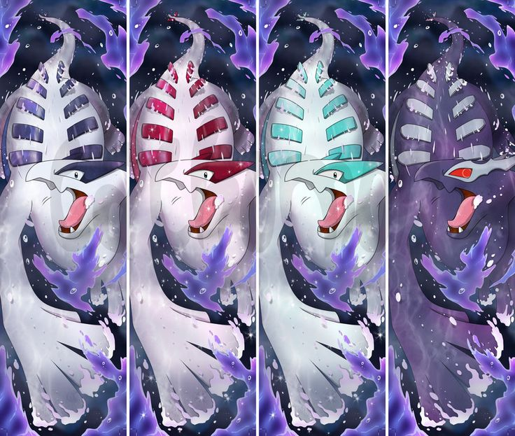 Lugia + Shiny Lugia + Shadow Lugia Bookmarks by Cachomon