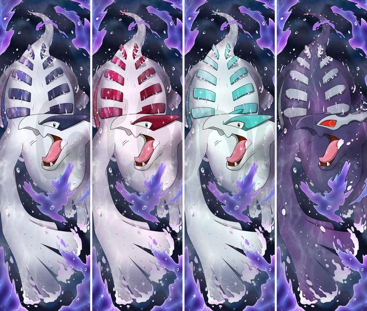 Lugia + Shiny Lugia + Shadow Lugia Bookmarks by Cachomon