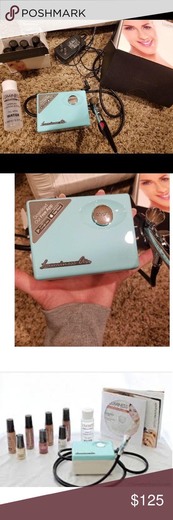 Luminess air brush machine NEW Airbrush cosmetics & skincare system new never used in box retails at $250 luminess airbrush Makeup Brushes & Tools