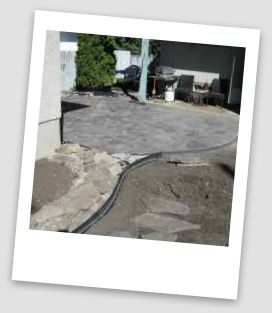 Patio Edging Jointing. How to complete your projects with edging and polymeric jointing sands.