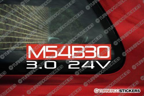 M54B30-3-0-24v-M54-Sticker-for-BMW-E46-330i-E60-530i-x3-x5