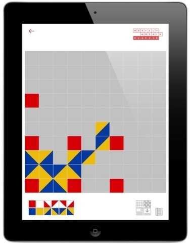 Touchscreen mosaic - digital procrastination