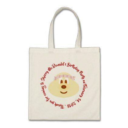 Band Hat 鮑 鮑 Birthday Souvenir Tote Bag 2 - birthday diy gift present custom ideas