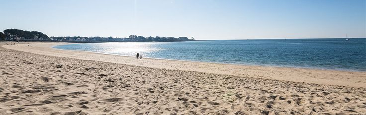 This gorgeous, sandy beach is in Benodet, Brittany, France. It is only 5 miles from our recommended campsite - Camping Sunêlia L'Atlantique
