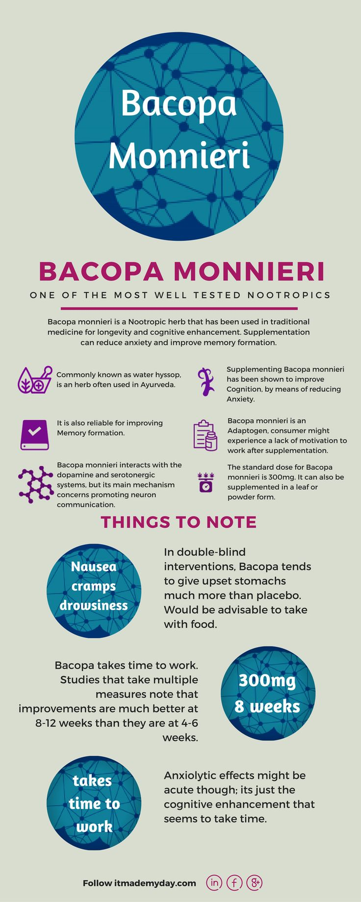 Nootropic for beginers - Bacopa Monnieri