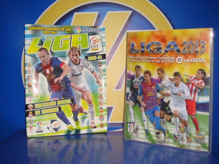 albunes oficial de cromos de futbol 2013-2014 liga LFP y fichas-Buen estado!