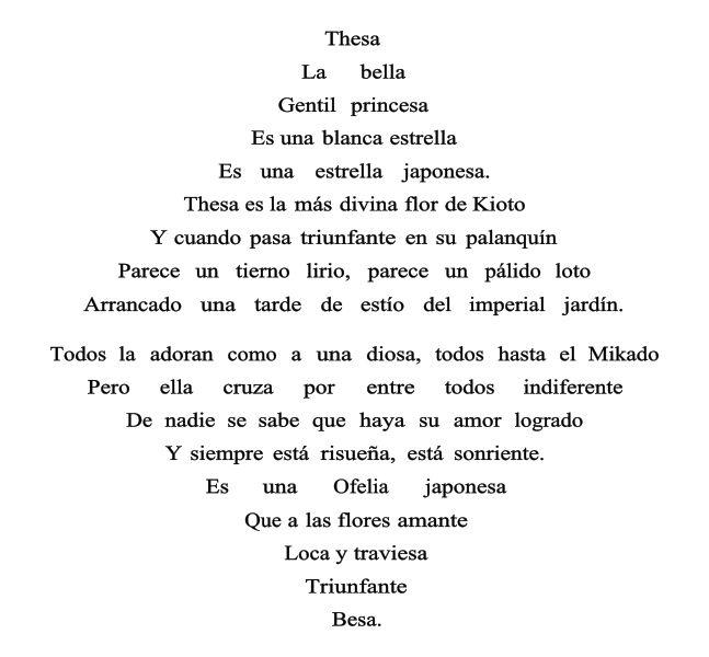 Triángulo armónico, de Vicente Huidobro.