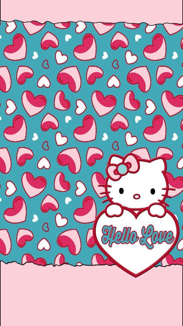 Hello Kitty Valentines Wallpaper