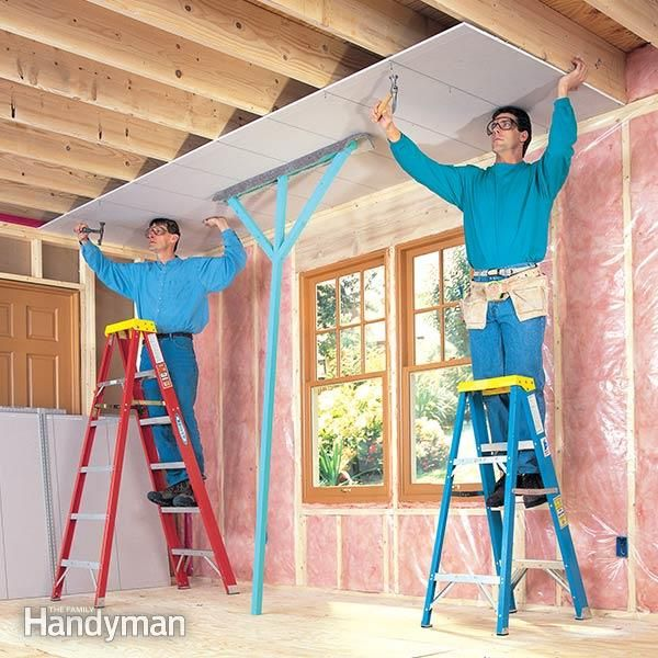 This article walks you through the 'Do's and Don'ts' of drywall installation. It will help you avoid seven common mistakes people make when tackling their drywall projects. Enjoy the foibles of our enthusiastic but sadly misguided drywall installer as he shows you the right way and the wrong way to get the job done.