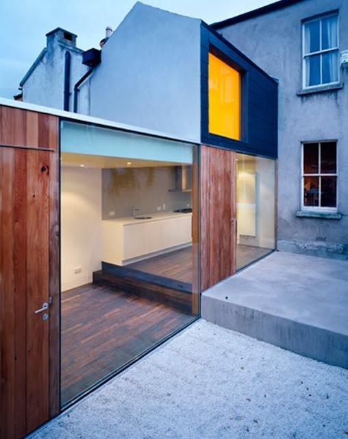 Extension - Sharpness of finishing/aesthetic that I like. ODOS Architects, Ireland